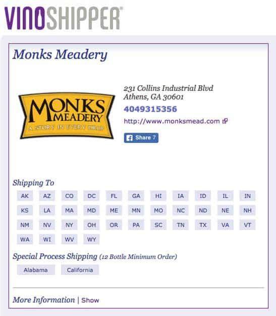 Buy Monks Mead
