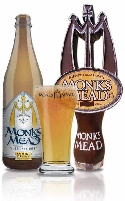 Monks Mead Bottle