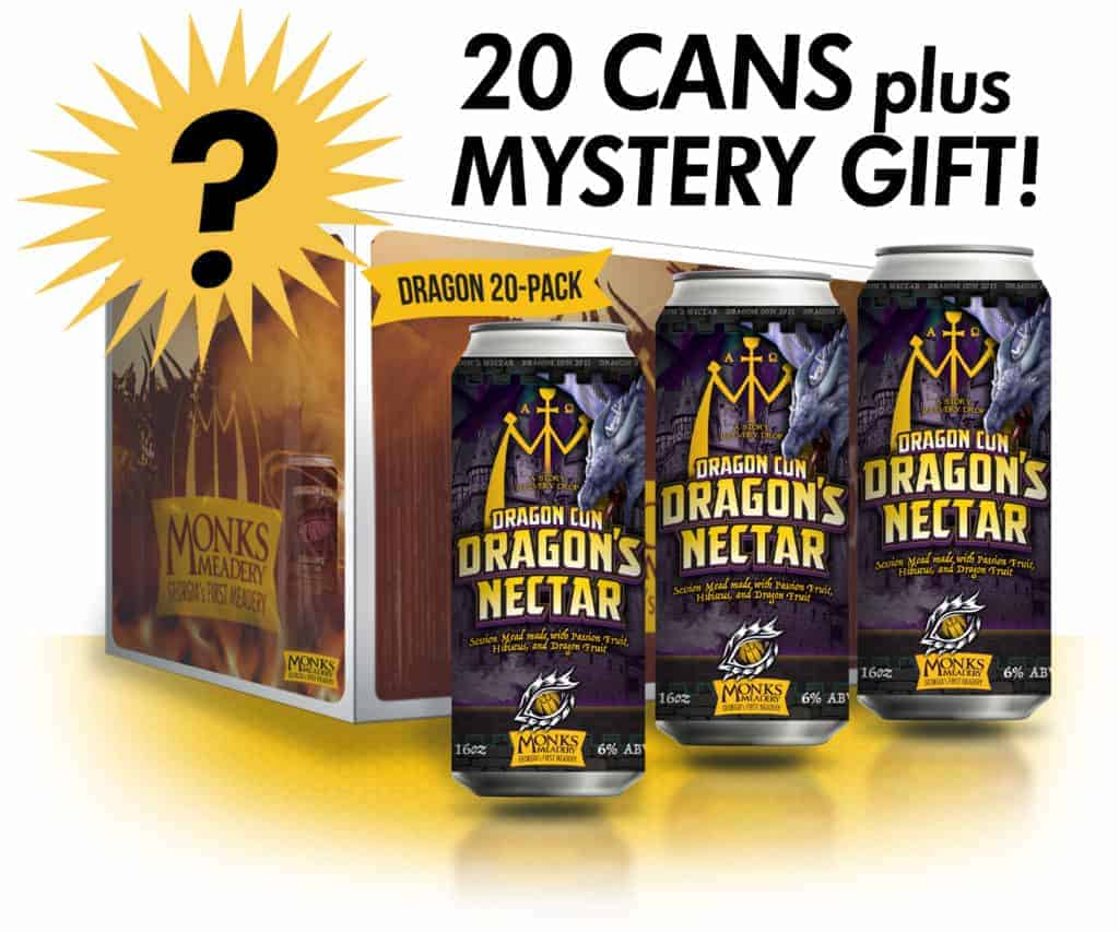 20 Cans plus Mystery Gift